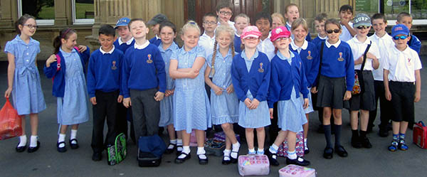 School Visit Preston Hall