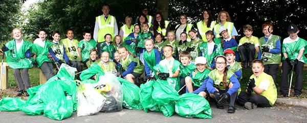 Schools Support Town Pride Environment Week