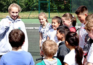 Tennis Leaders Assist Greenfield Tennis Club