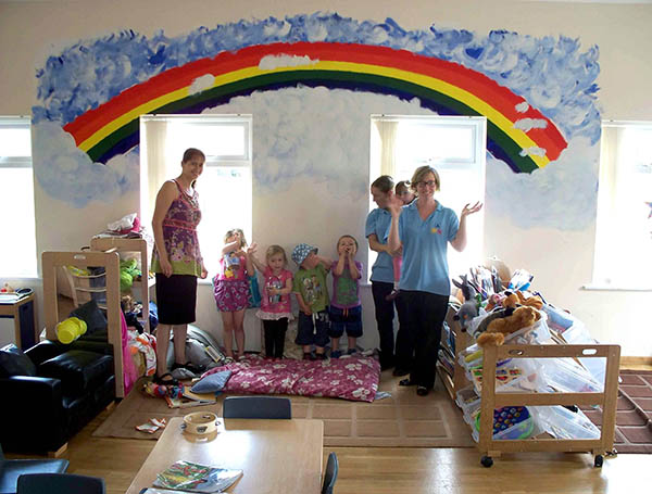 Contractor Brightens up Community Centre