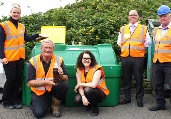 Cooking Oil Recycling Makes Durham Greener