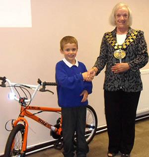 Charlie Wins a Bike