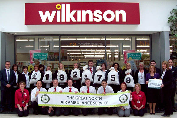 Wilko Continue Support for Air Ambulance