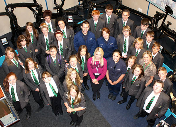 Students Get a Taste of the Workplace