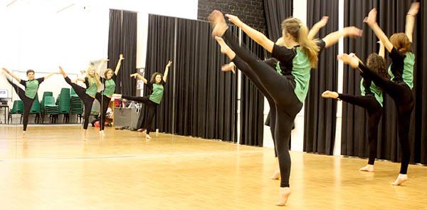 New Dance Studio at  Woodham Academy