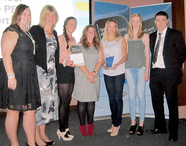 Sports Award for Greenfield