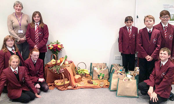 Harvest Festivals in Town's Care Homes