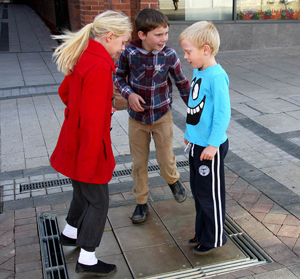 Annoying Town Centre Musical Pavement