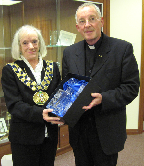 Town Council Honour Former Town Priest