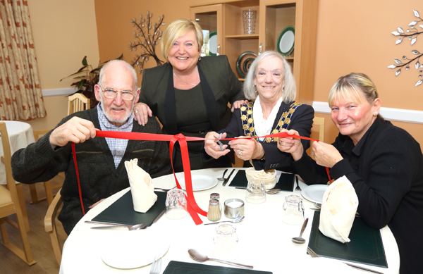 Town Mayor Opens Refurbished Care Home