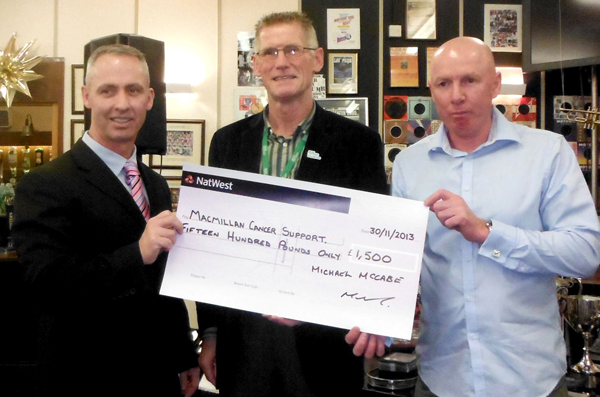 Golf Club Support Cancer Charity
