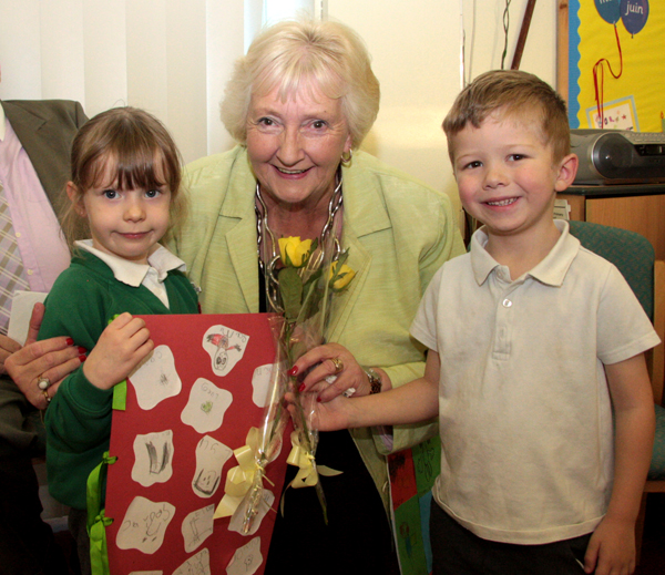 School Governor Retires After 20 Years