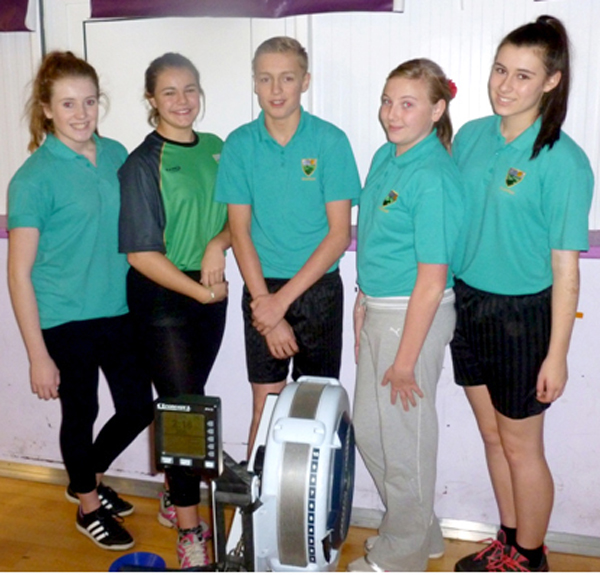 Greenfield at County Rowing Finals