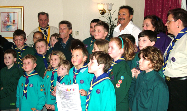 Scout Group Recognised for Supporting Young Carers