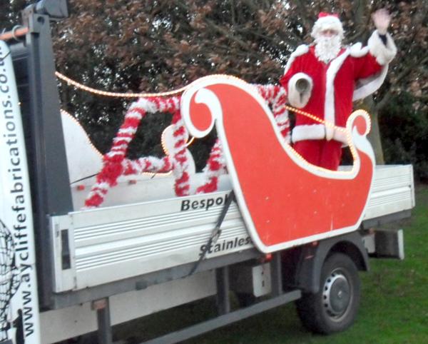 Yobs Spoil Santa Tour