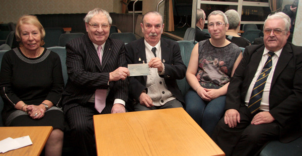 Charity Night Raised £2,300 and Breaks Poppy Appeal Record