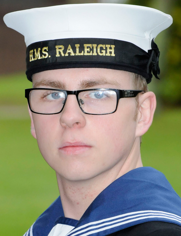 Aycliffe Recruit Sails Through Navy Training