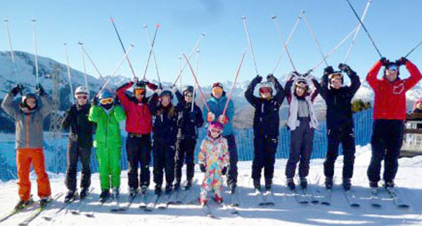 Local Schools Ski in Partnership