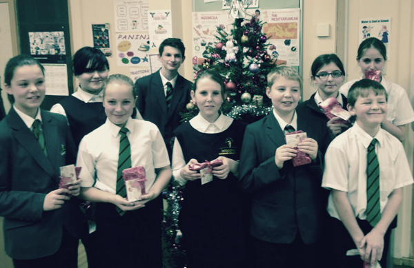 Cooking Club Present Festive Meal