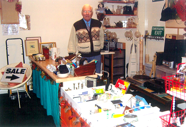 Hoarder's Treasure Trove of Bargains on Sale for Charity