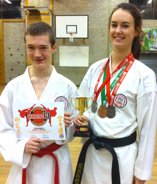 Country's Second Best  in Karate Kumite