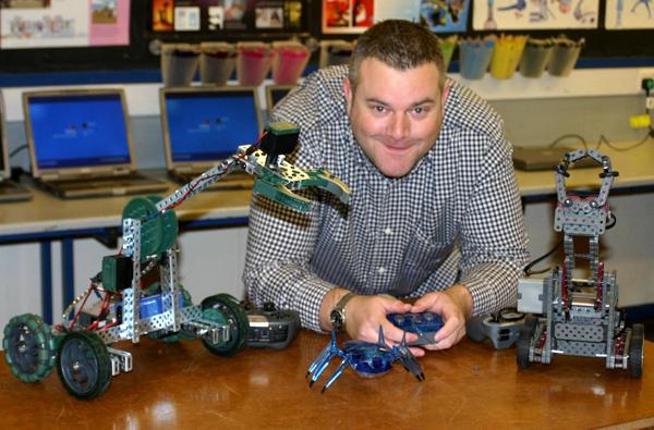 Robotics at Woodham Academy