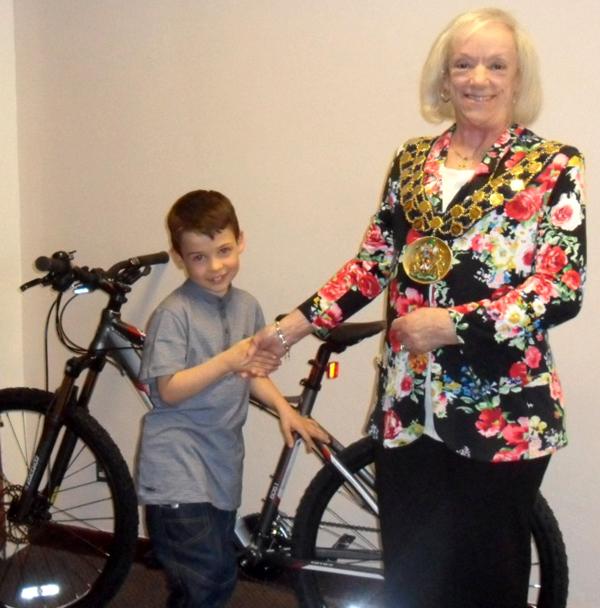 Lucky Bike Winner