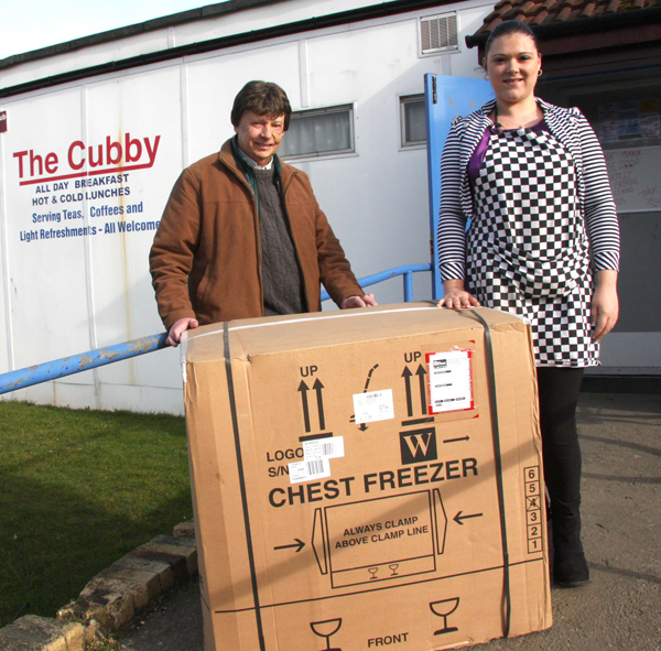 """""""The Cubby"""" ReceiveS Free Ebac Freezer"""