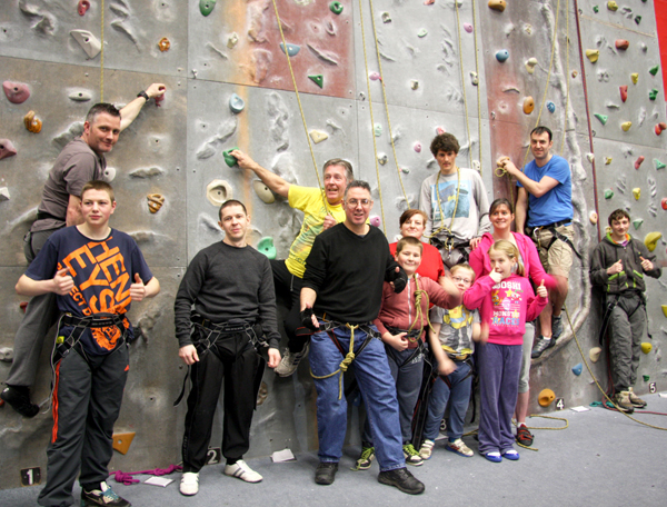 Sponsored Climb to Help Needy People in Aycliffe