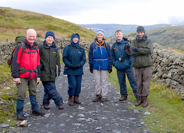Aycliffe Walkers Falling in South Eastern Fells