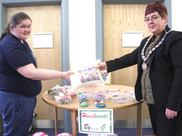 Deputy Mayor at Aycliffe Autism Centre Spring Fete