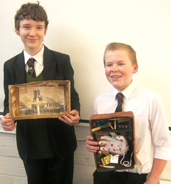 Students Work with Local History Society