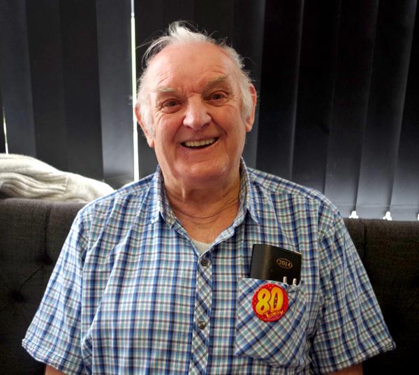 Sports Club Celebrates Birthday of Longest Serving Member