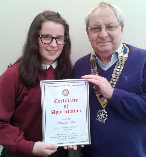 Young Charity Workers Receive Award