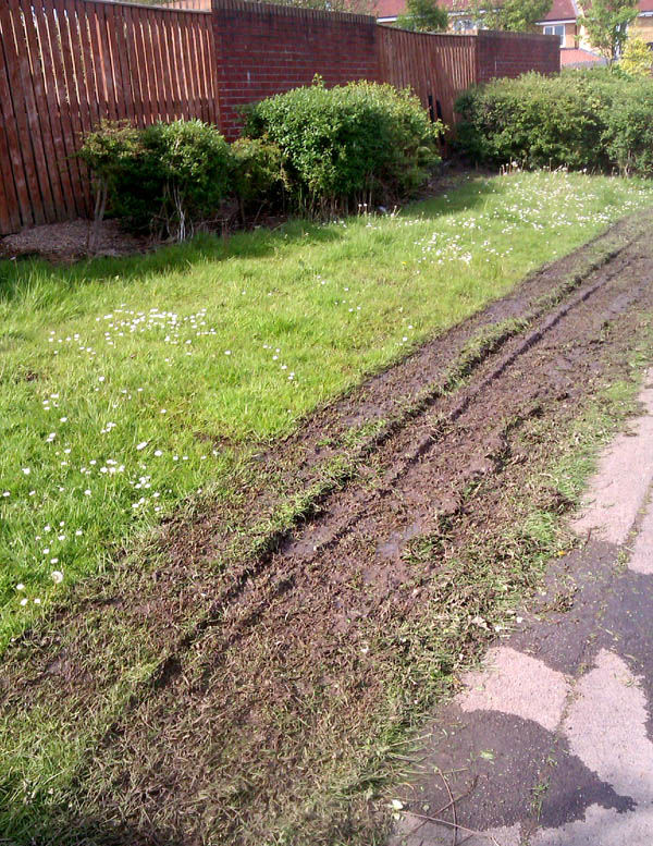 Grasscutting Result When Conditions are Unsuitable