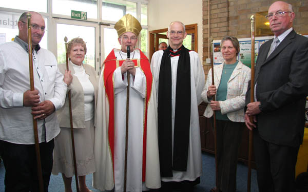 Bishop of Durham Inducts New Rector of Great Aycliffe