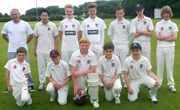 Aycliffe Juniors Beat Shildon by 9 Wickets