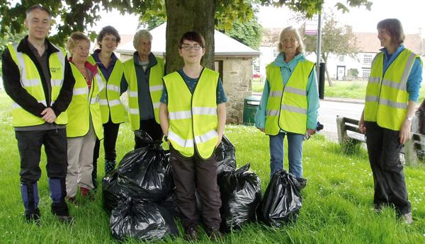 Good Work by Volunteer Litter Pickers