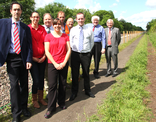 New Two Mile Footpath Links Town with Shildon