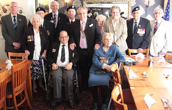 Rotary Club Fund Normandy Veterans Final Lunch
