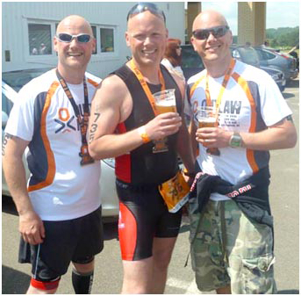 Family of Triathletes in Ironman Event