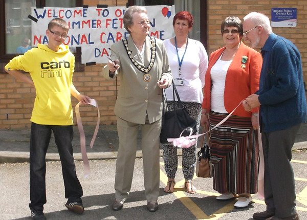 Aycliffe Care Home Fete