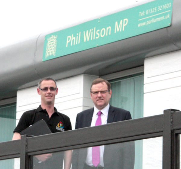 Welfare Champions scheme supported by phil wilson mp