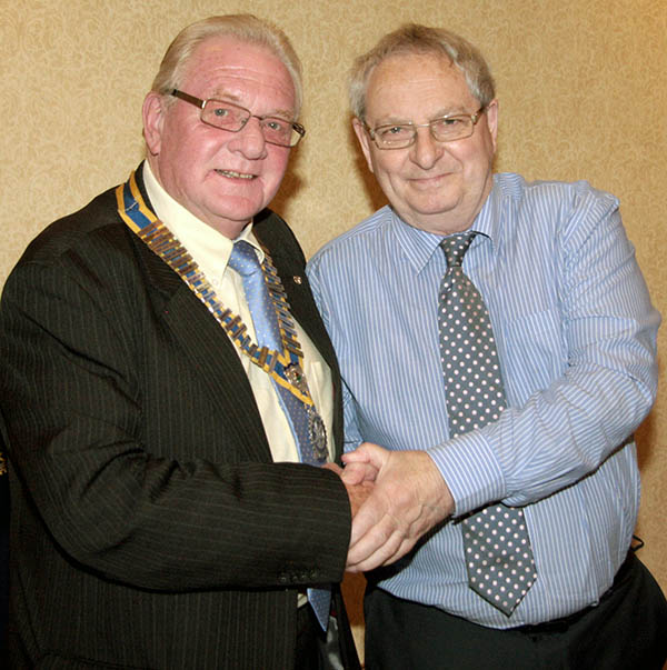 New Rotary Club President for Newton Aycliffe