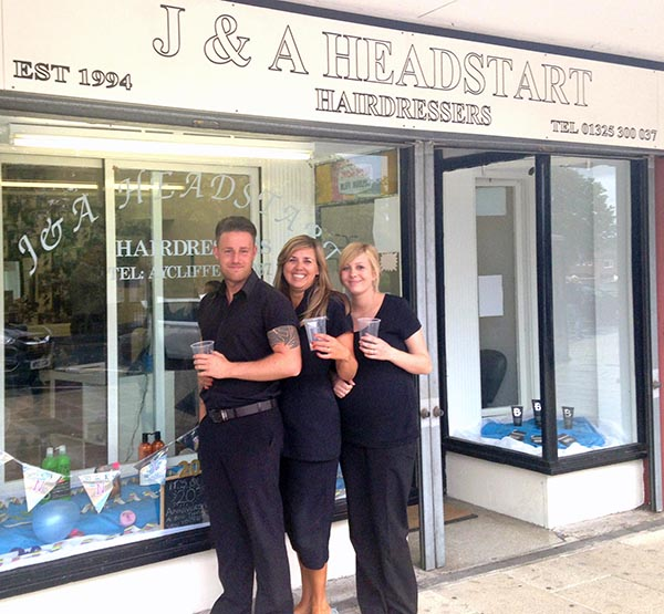 Hairdresser Celebrates 20th Year in Business