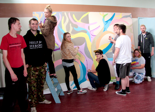 Prince's Trust Volunteers Spruce up St. Clare's