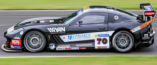 Aycliffe Firm Sponsor  Local Racing Driver
