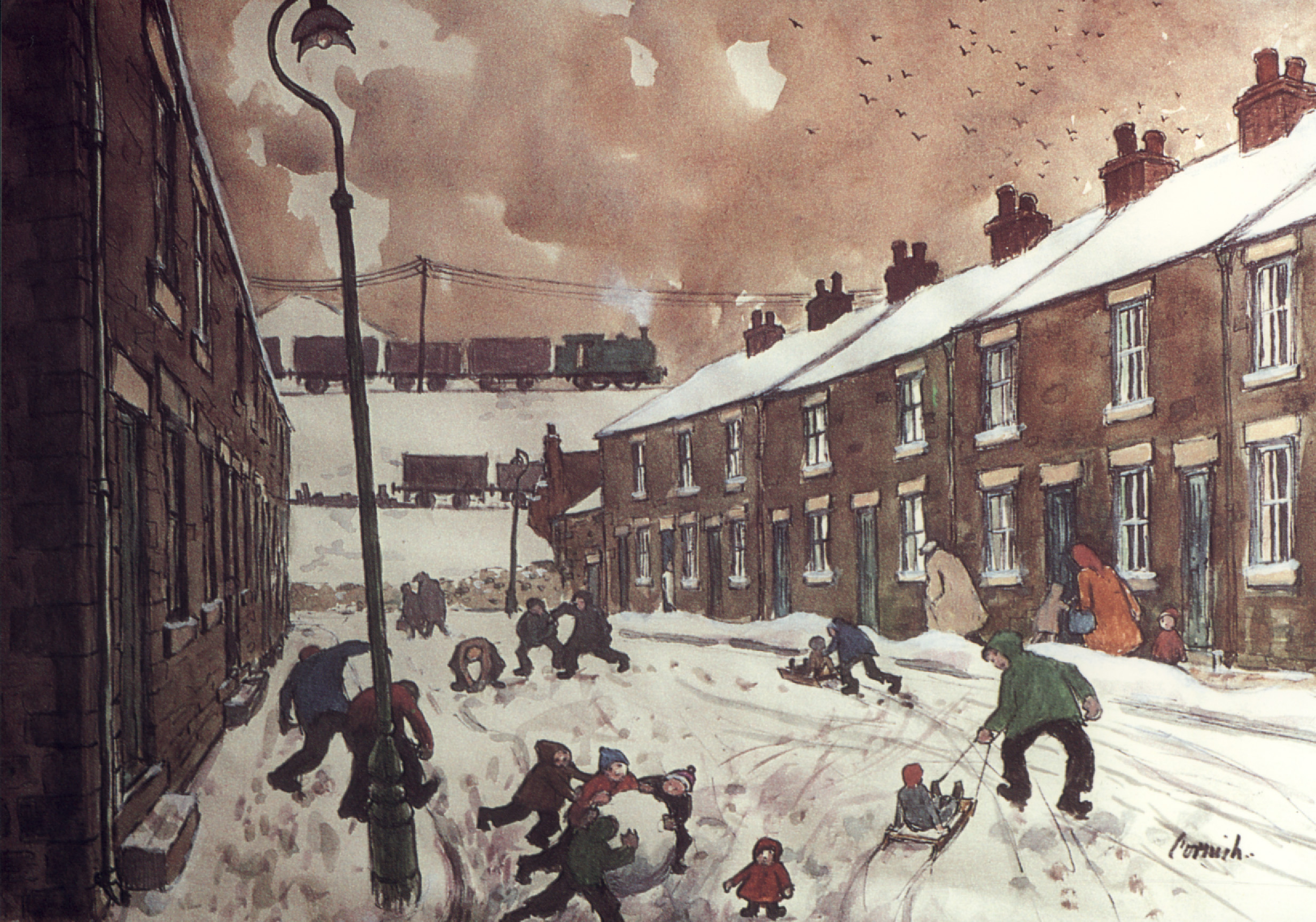 """Last chance to see """"Bishops Close Street"""" Exhibition at Greenfield"""