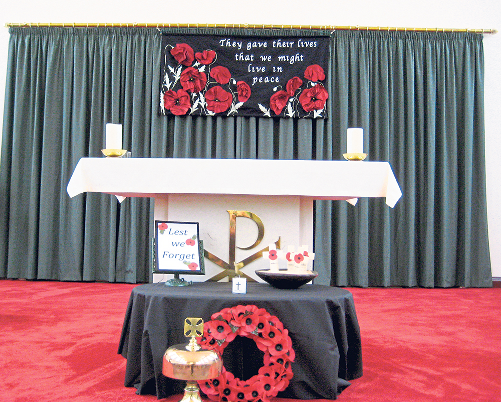 St. Mary's Church Commemorate WW1