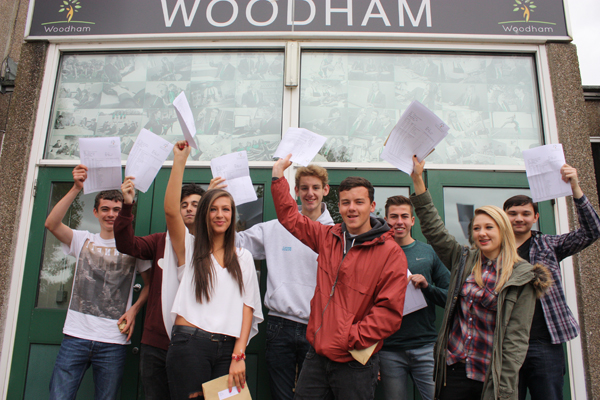 High Flying Students at Woodham Academy